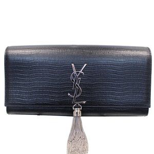 YVES SAINT LAURENT CLASSIC KATE MONOGRAM TASSEL